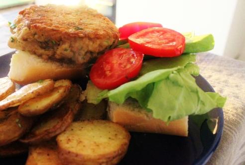veggie burger 004